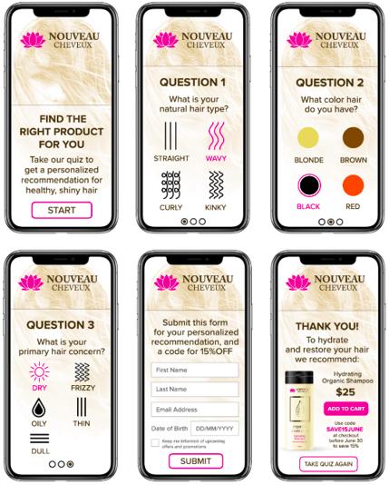 Product Finder Quiz